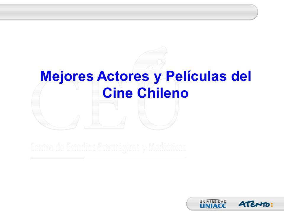 Mejores Actores y Películas del Cine Chileno