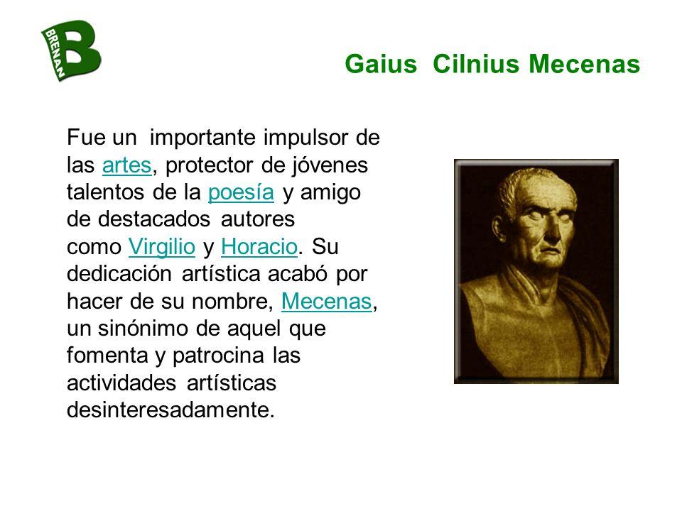 Gaius Cilnius Mecenas