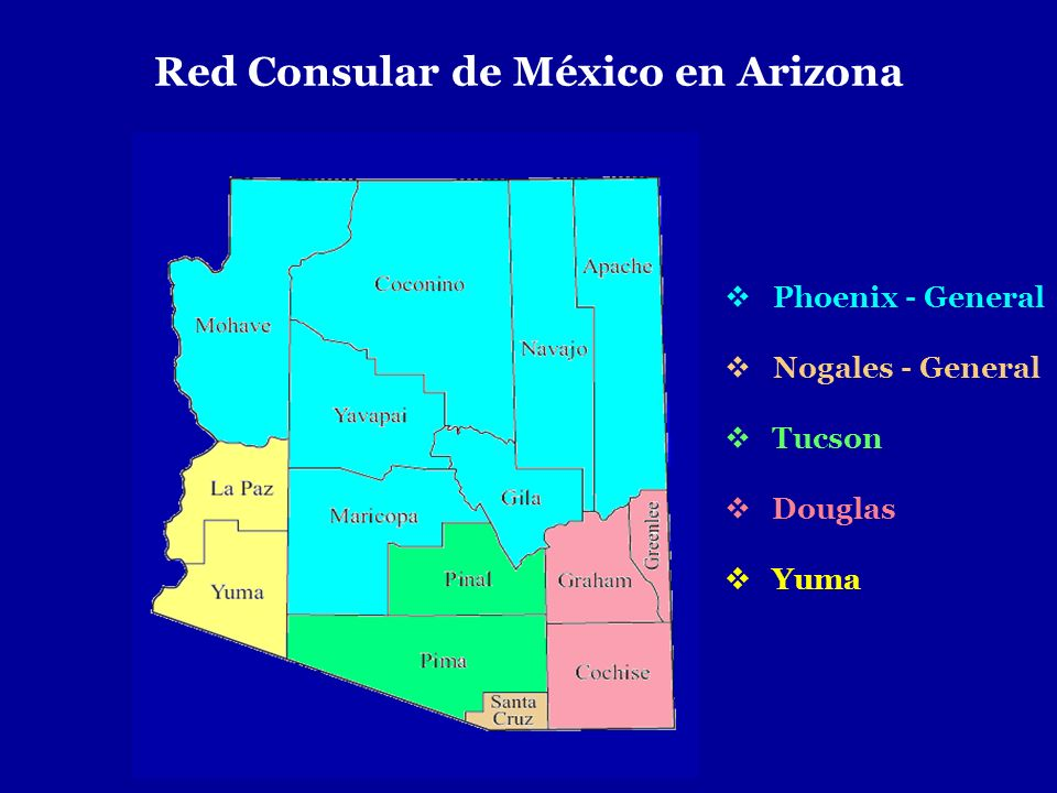 Red Consular de México en Arizona