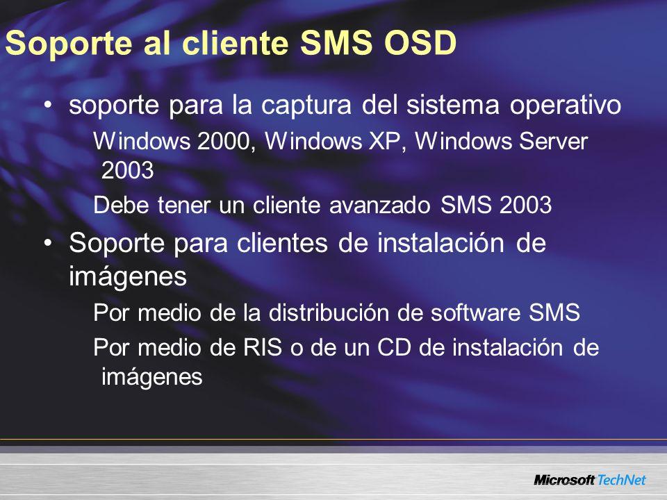 Soporte al cliente SMS OSD