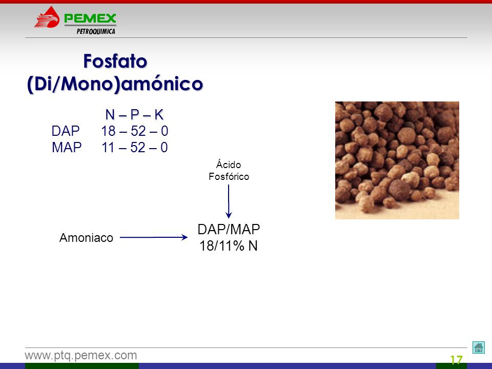 Fosfato (Di/Mono)amónico