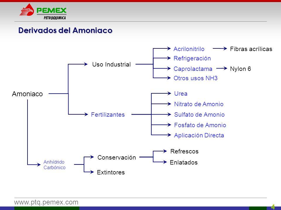 Derivados del Amoniaco