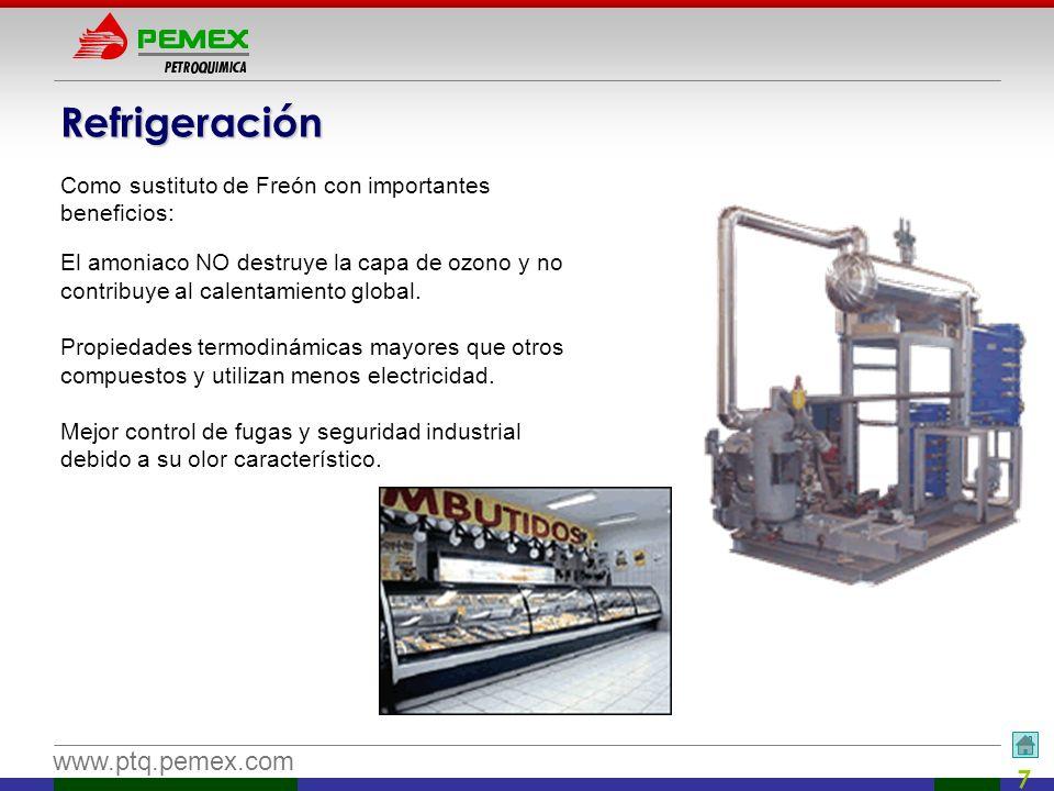 Refrigeración Como sustituto de Freón con importantes beneficios: