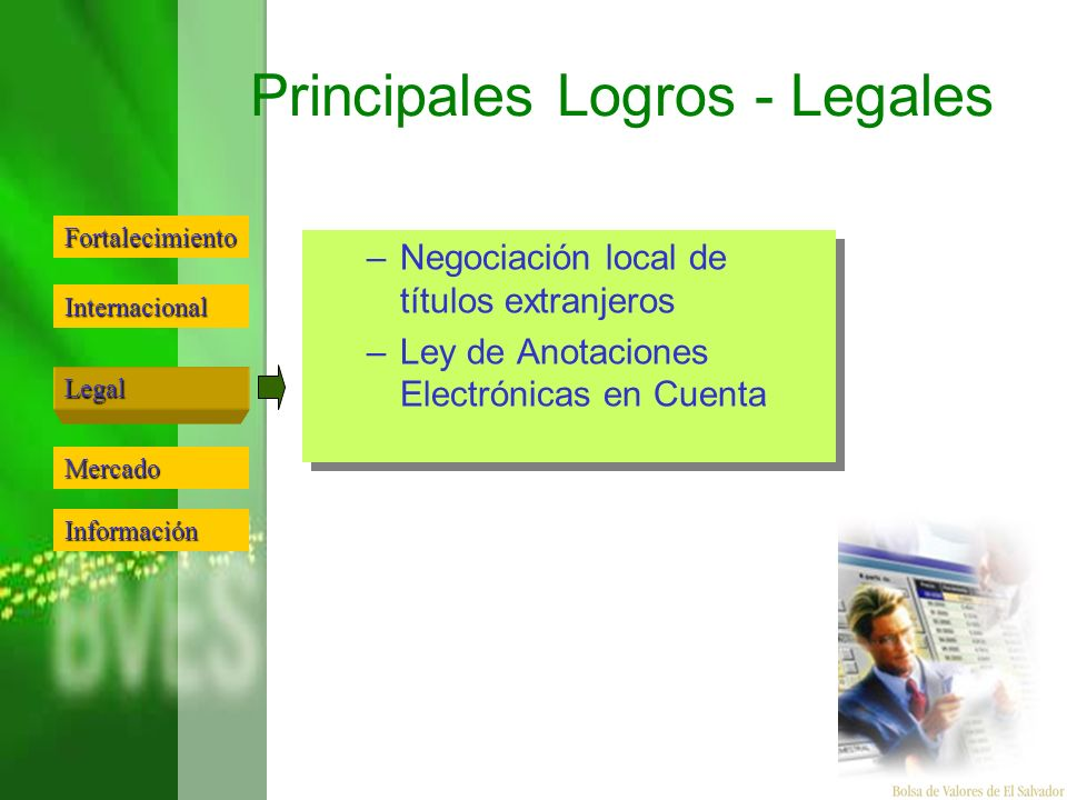 Principales Logros - Legales