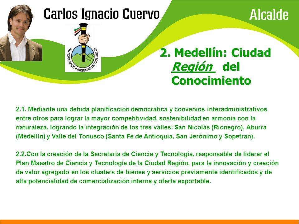 2. Medellín: Ciudad Región del Conocimiento