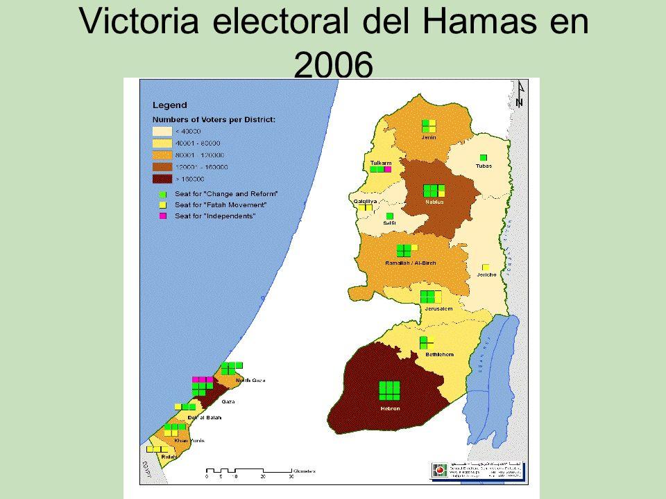 Victoria electoral del Hamas en 2006