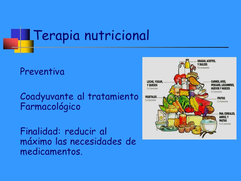 Terapia nutricional Preventiva