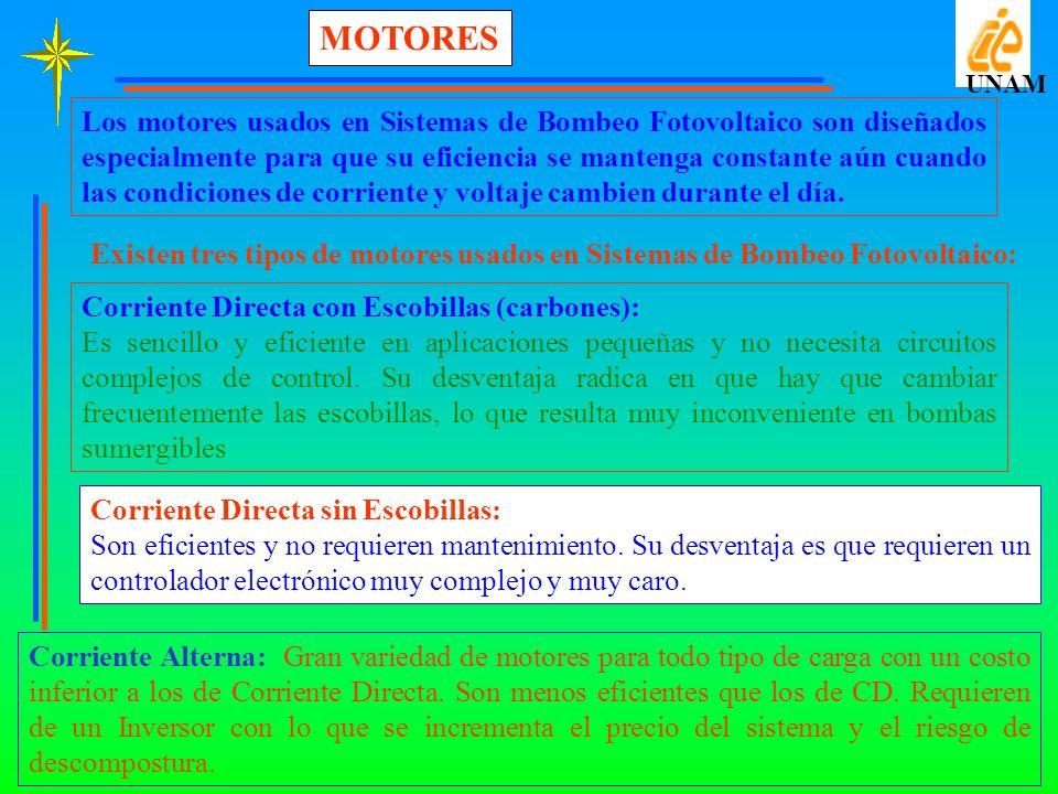 MOTORES UNAM.