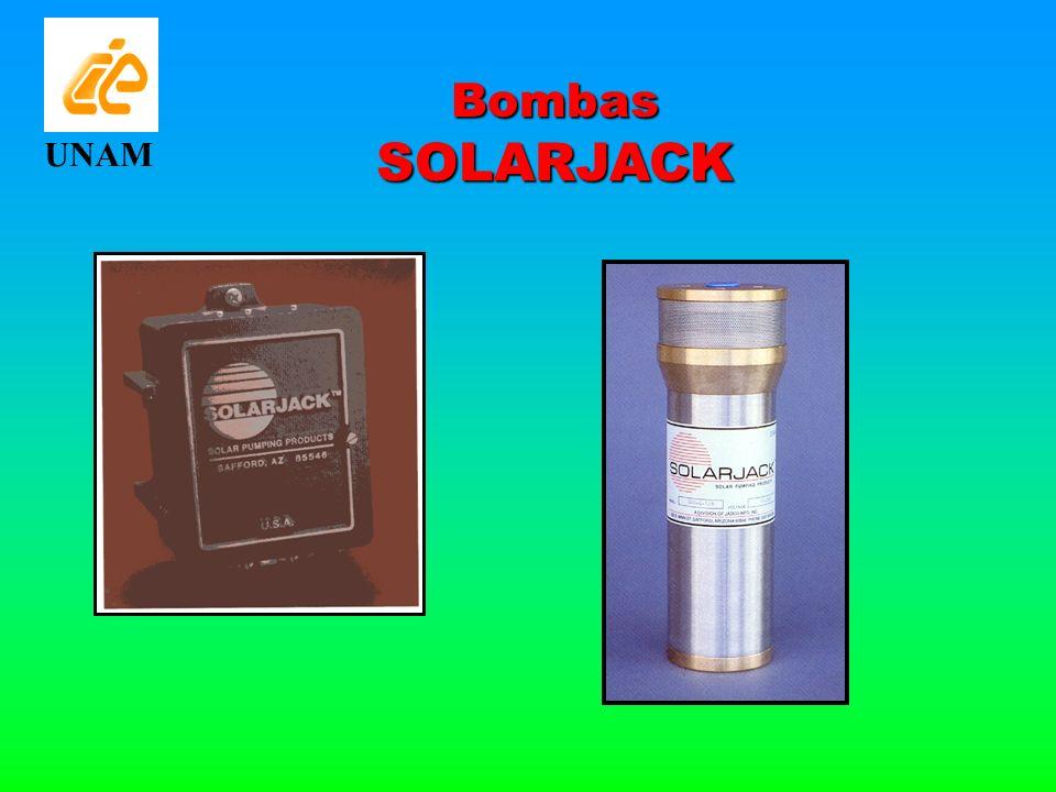 Bombas SOLARJACK UNAM