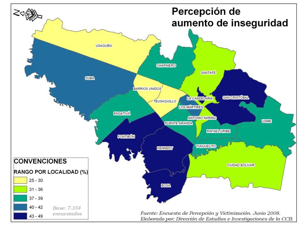 LOCALIDADES CRITICAS BOSA FONTIBÓN CANDELARIA USME KENNEDY