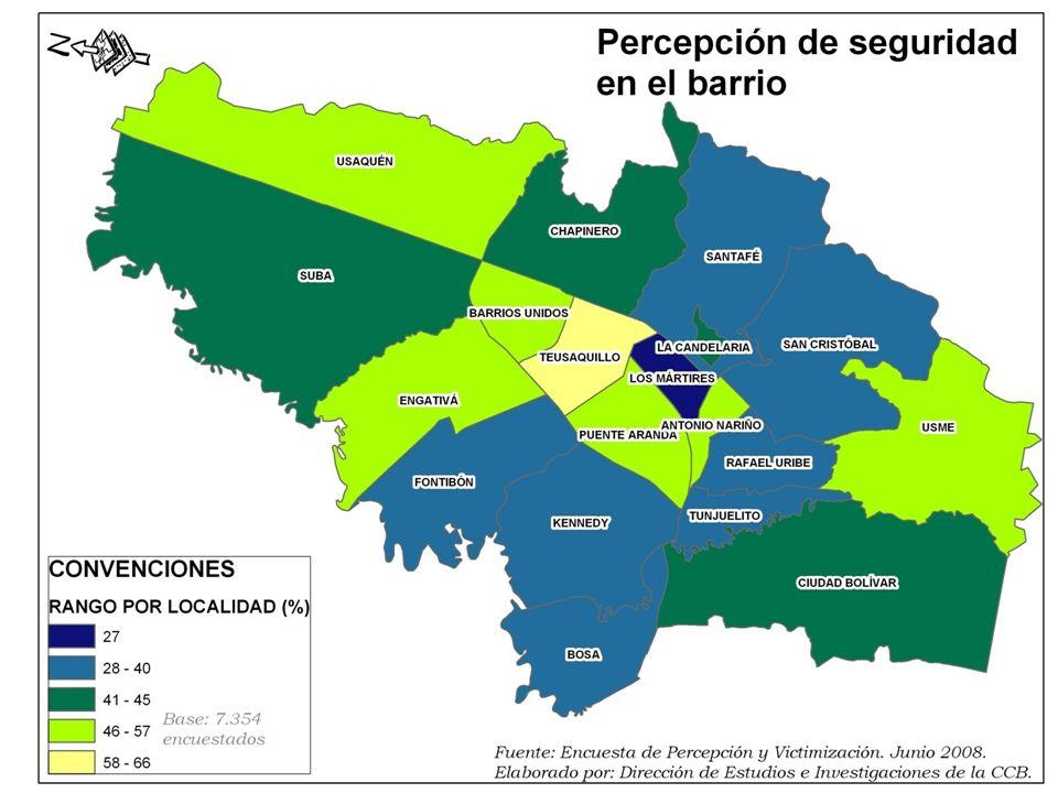 LOCALIDADES CRITICAS (BAJO NIVEL DE DENUNCIA)