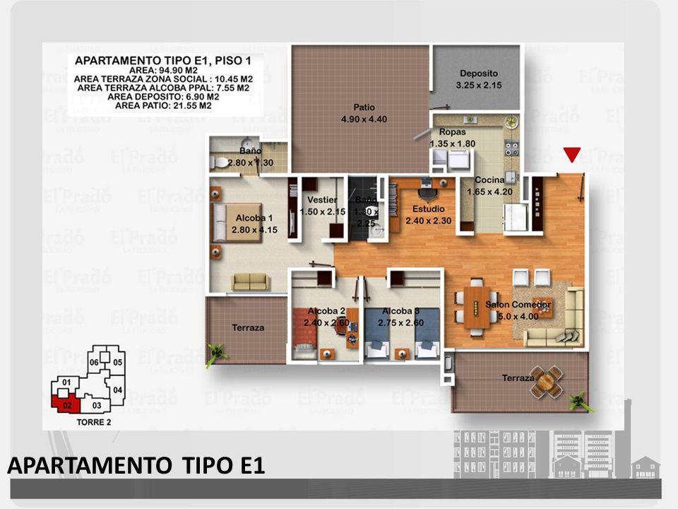 APARTAMENTO TIPO E1