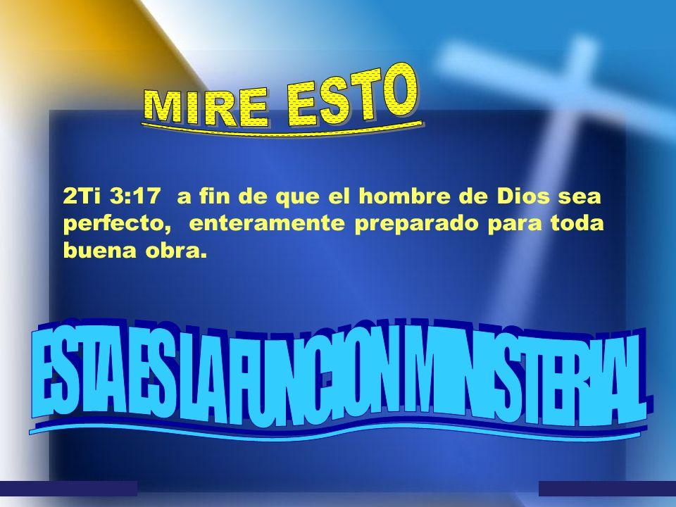 ESTA ES LA FUNCION MINISTERIAL