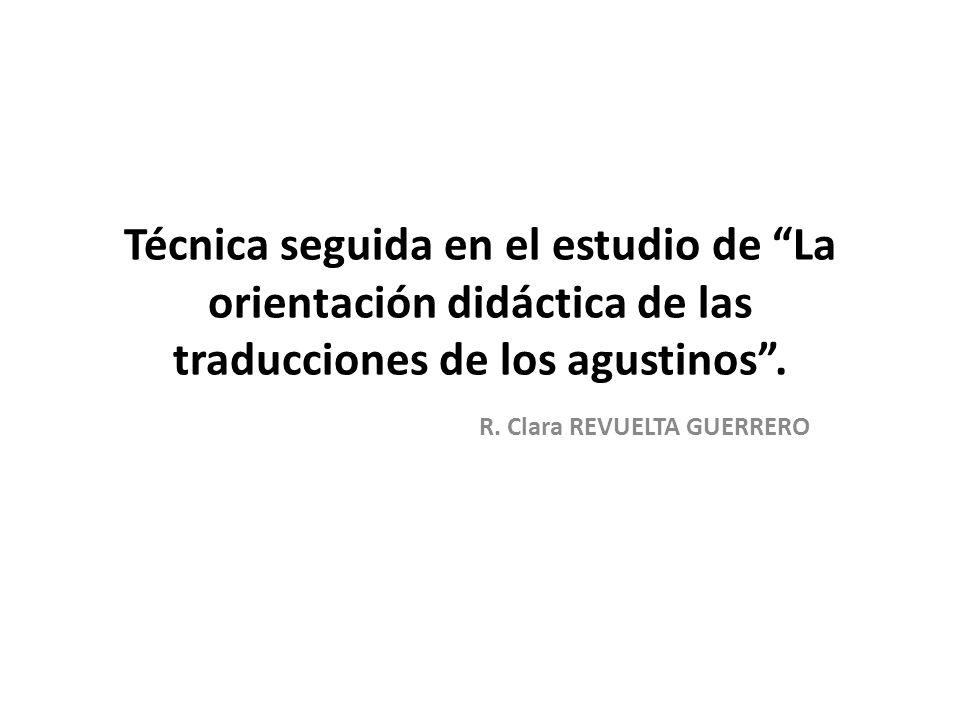 R. Clara REVUELTA GUERRERO