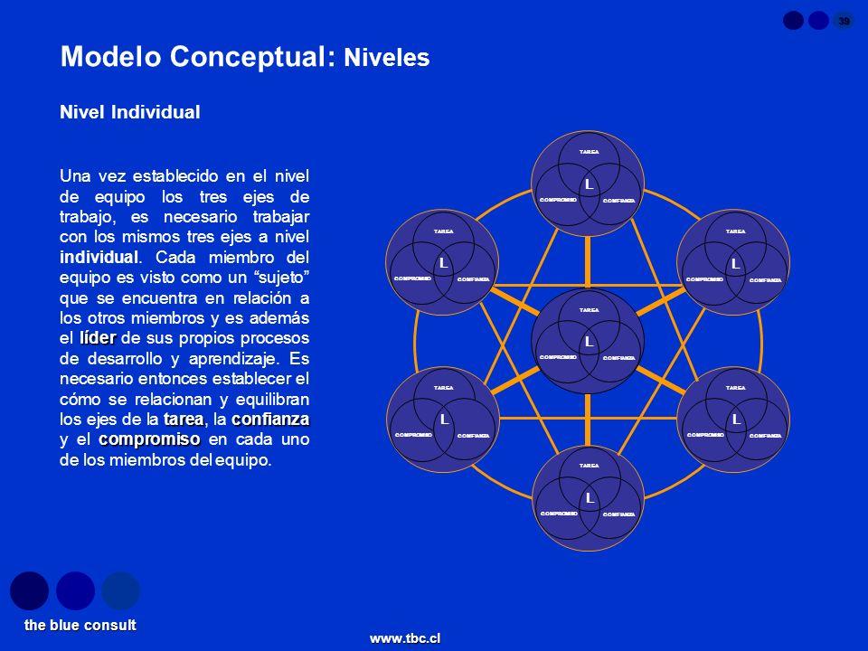 Modelo Conceptual: Niveles
