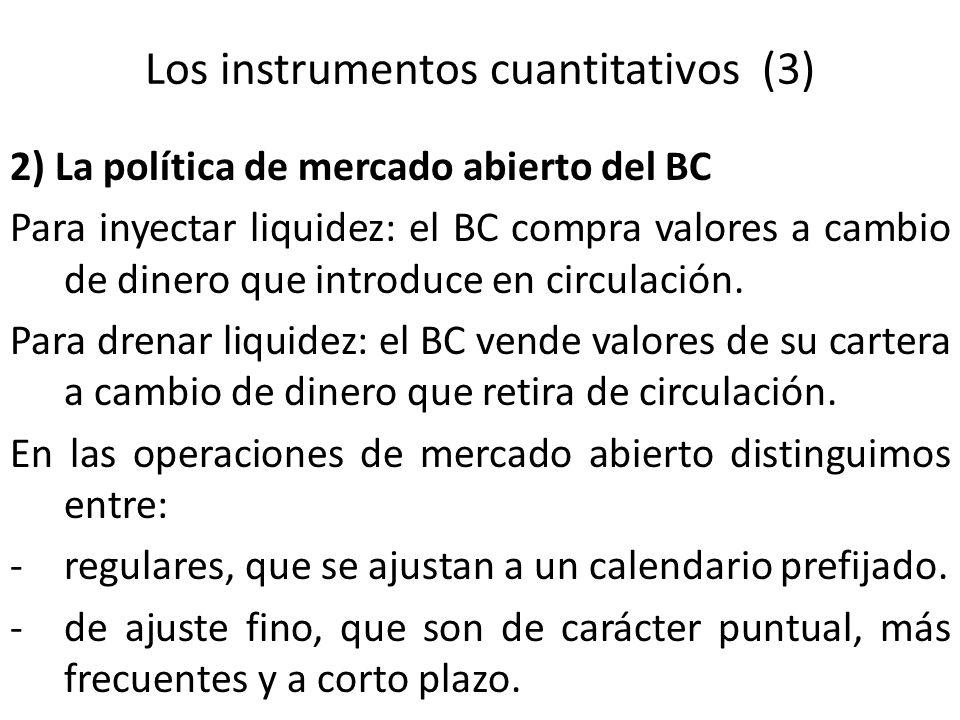 Los instrumentos cuantitativos (3)
