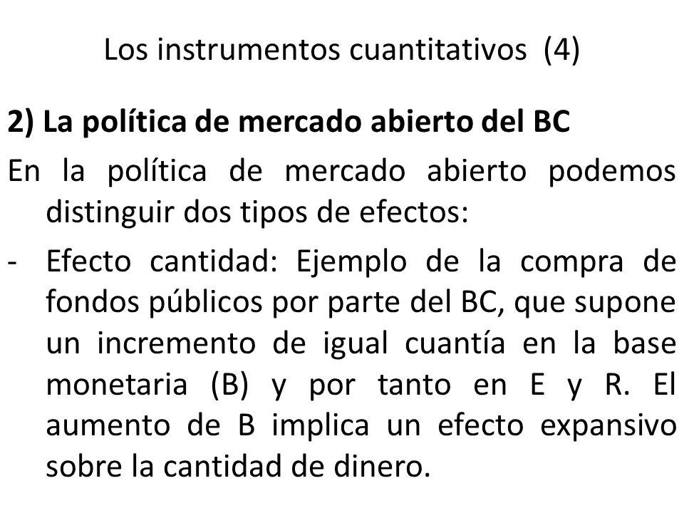 Los instrumentos cuantitativos (4)