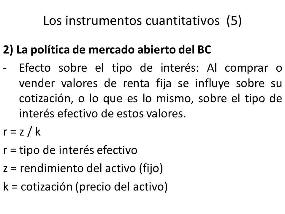 Los instrumentos cuantitativos (5)