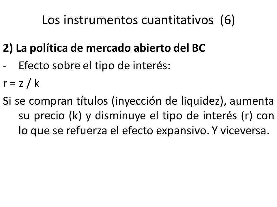 Los instrumentos cuantitativos (6)