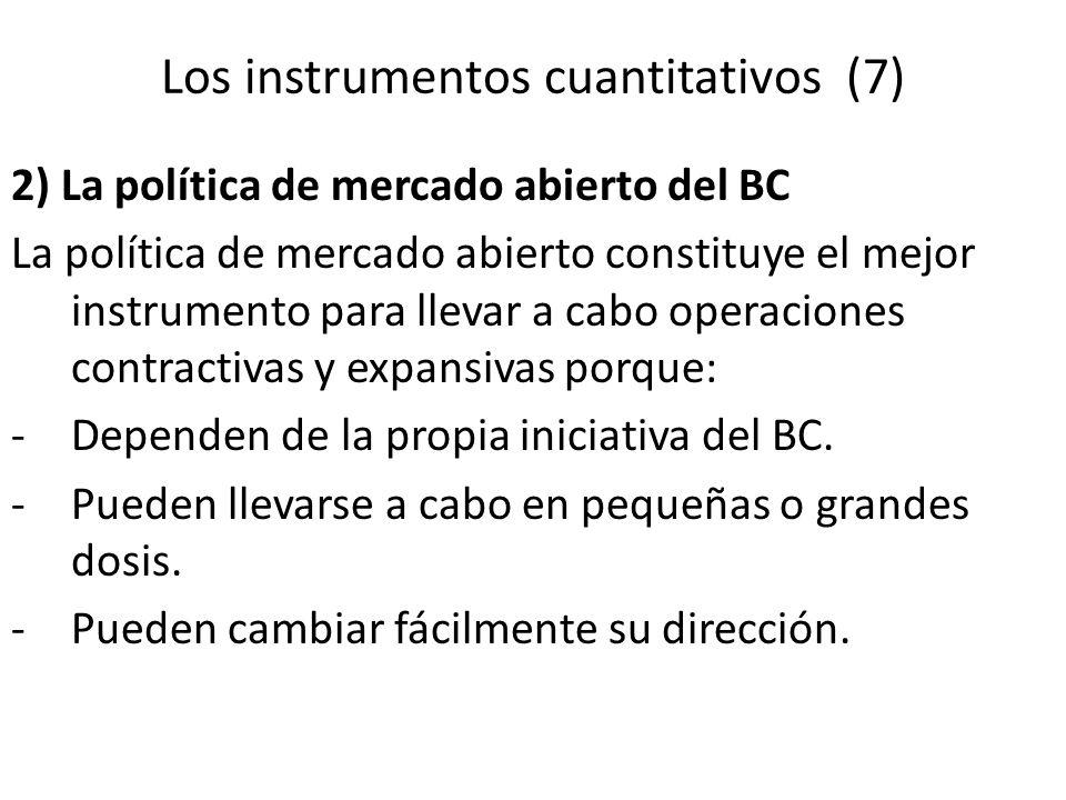 Los instrumentos cuantitativos (7)