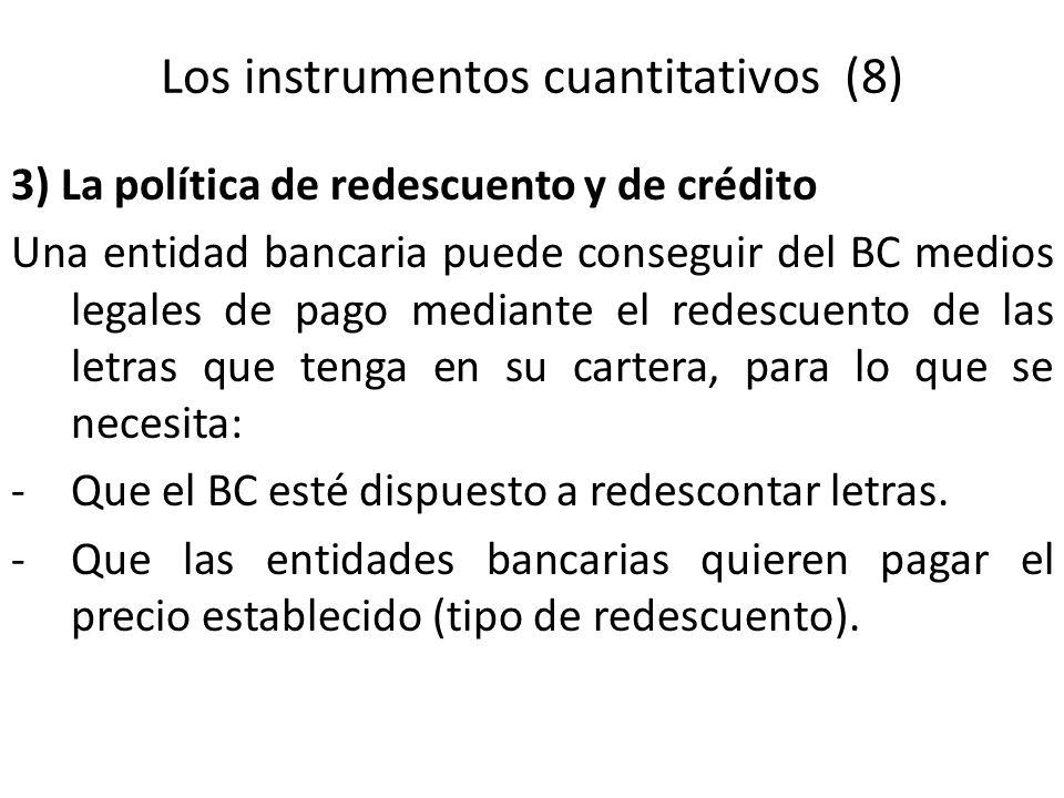 Los instrumentos cuantitativos (8)