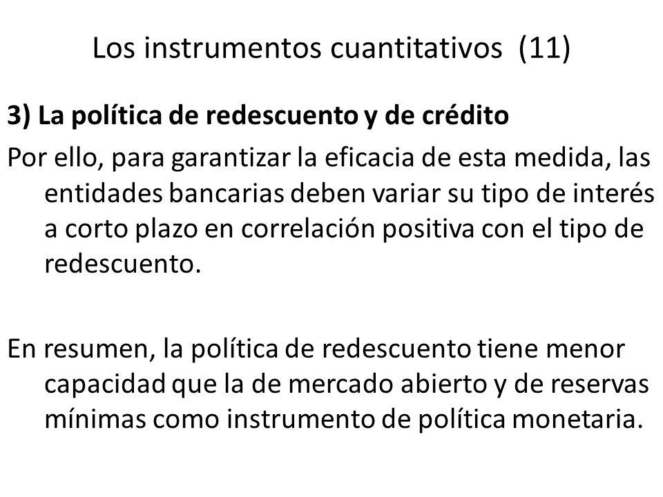 Los instrumentos cuantitativos (11)