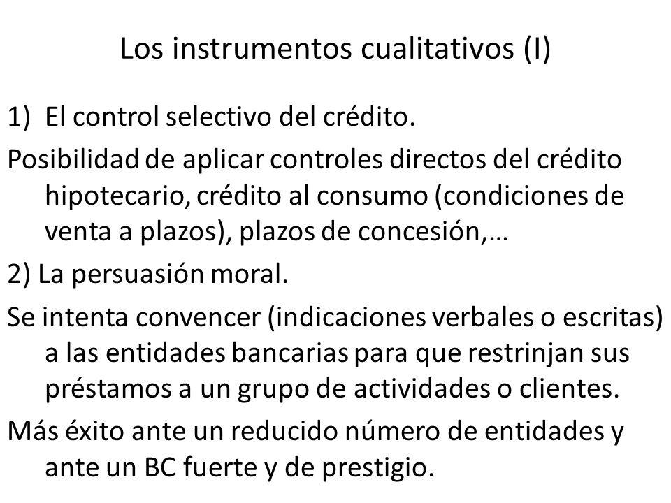 Los instrumentos cualitativos (I)