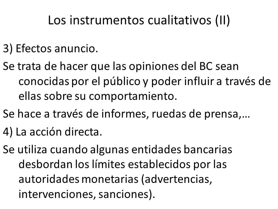 Los instrumentos cualitativos (II)