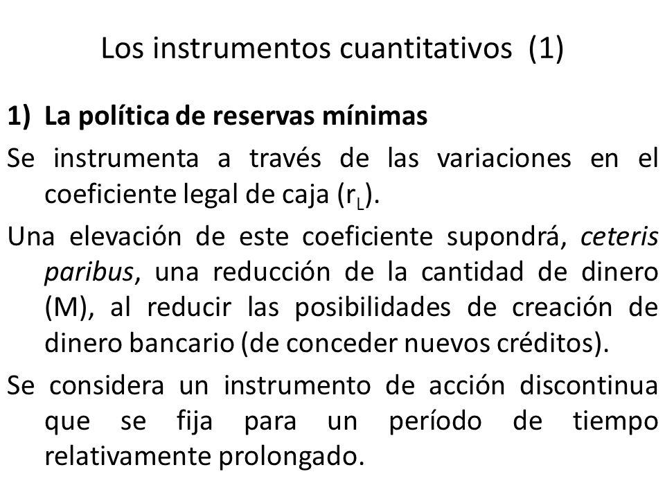 Los instrumentos cuantitativos (1)