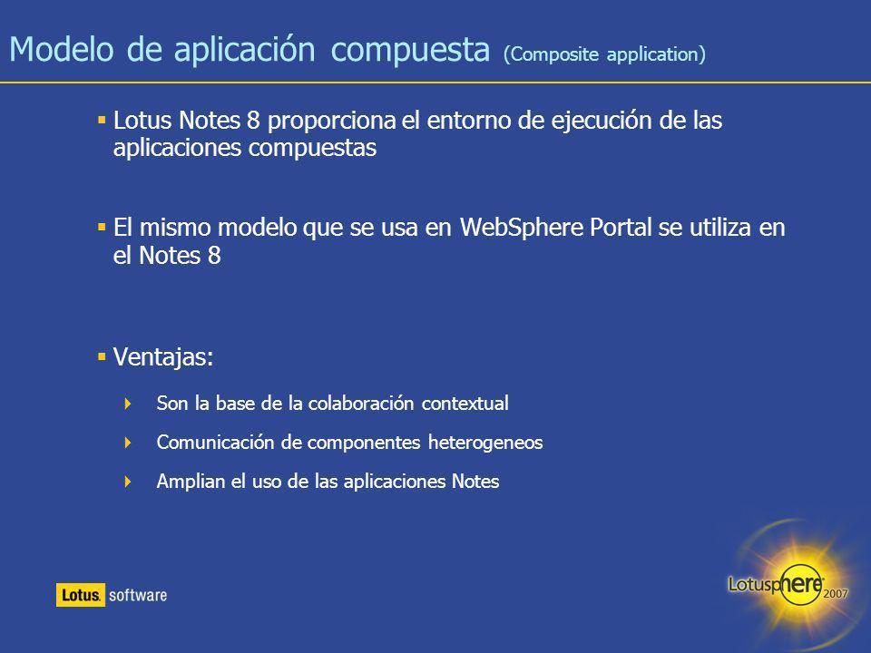 Modelo de aplicación compuesta (Composite application)