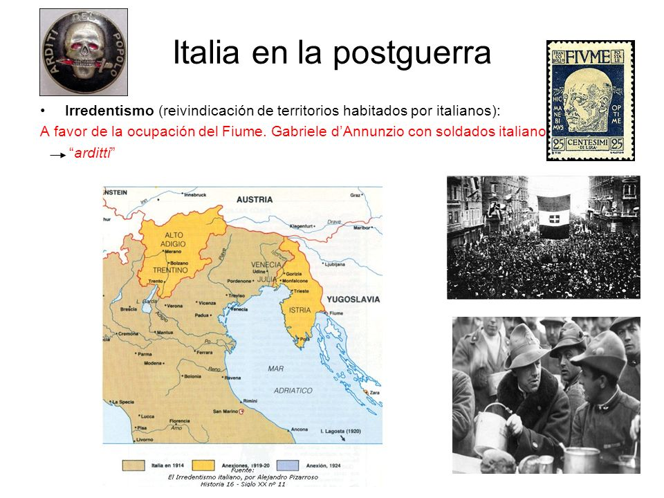 Italia en la postguerra
