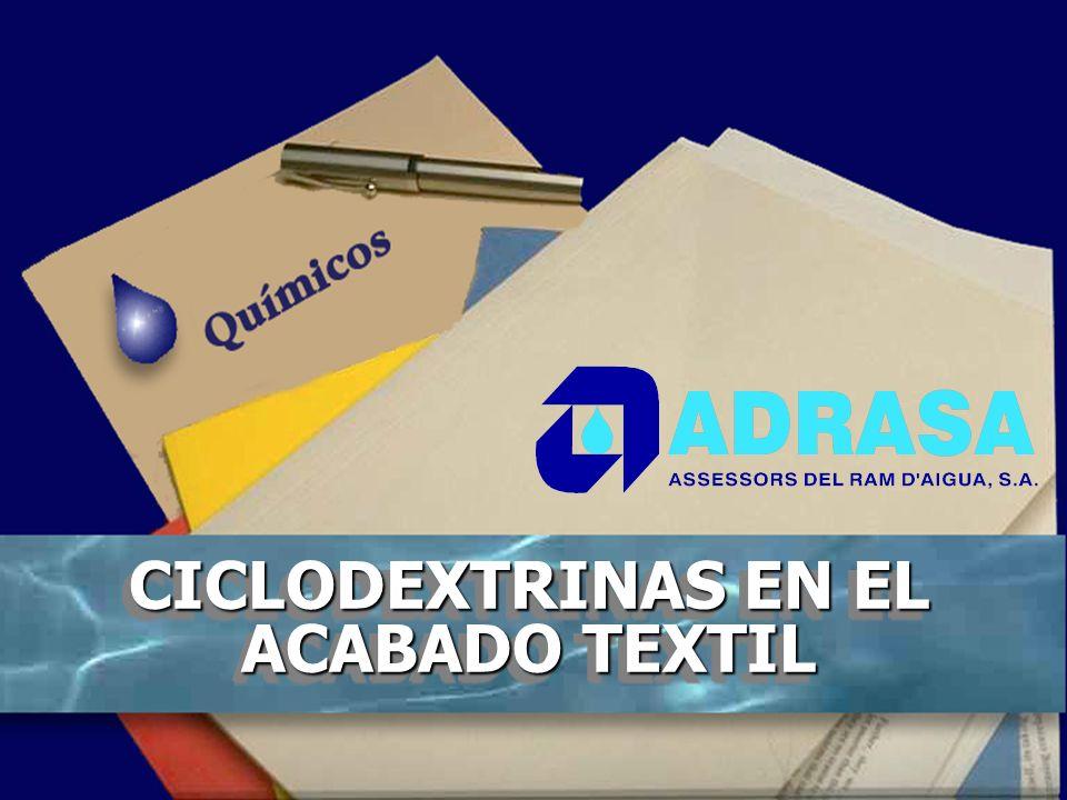 CICLODEXTRINAS EN EL ACABADO TEXTIL