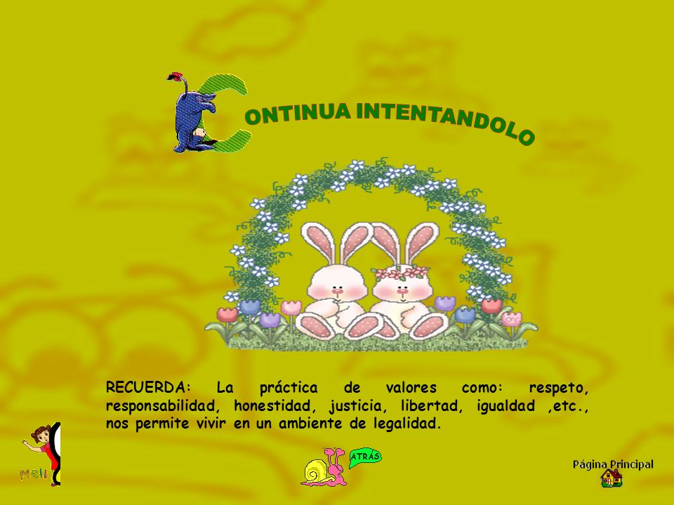 ONTINUA INTENTANDOLO