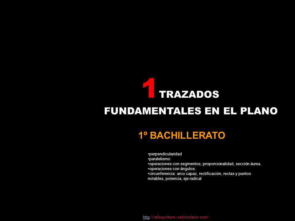 tema1TRAZADOS FUNDAMENTALES EN EL PLANO