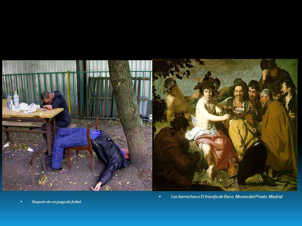 Los borrachos o El triunfo de Baco. Museo del Prado. Madrid