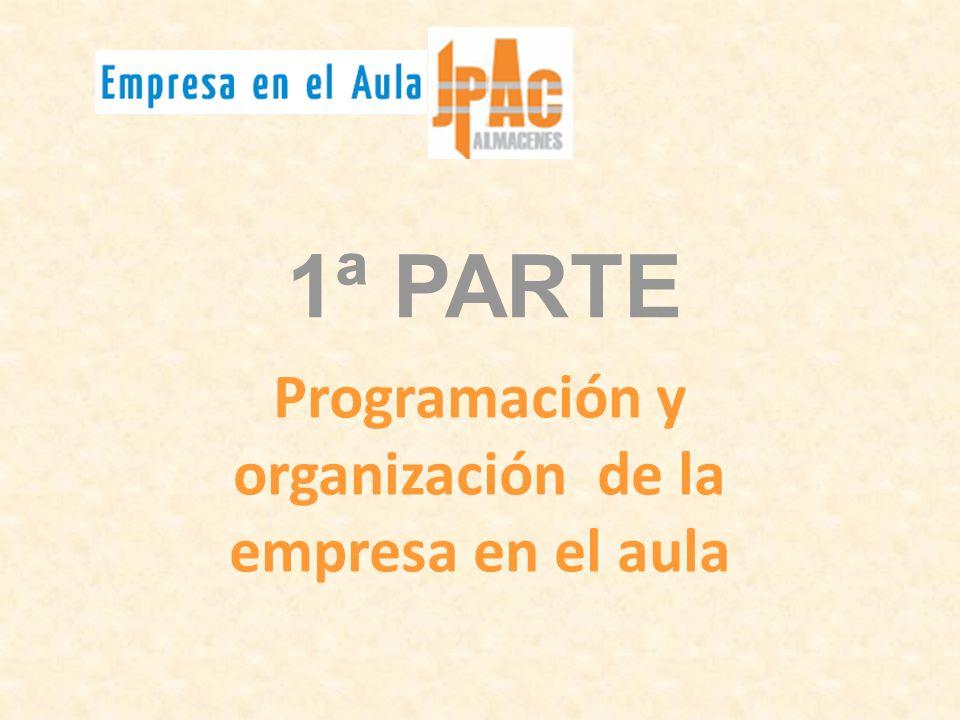 Programación y organización de la empresa en el aula