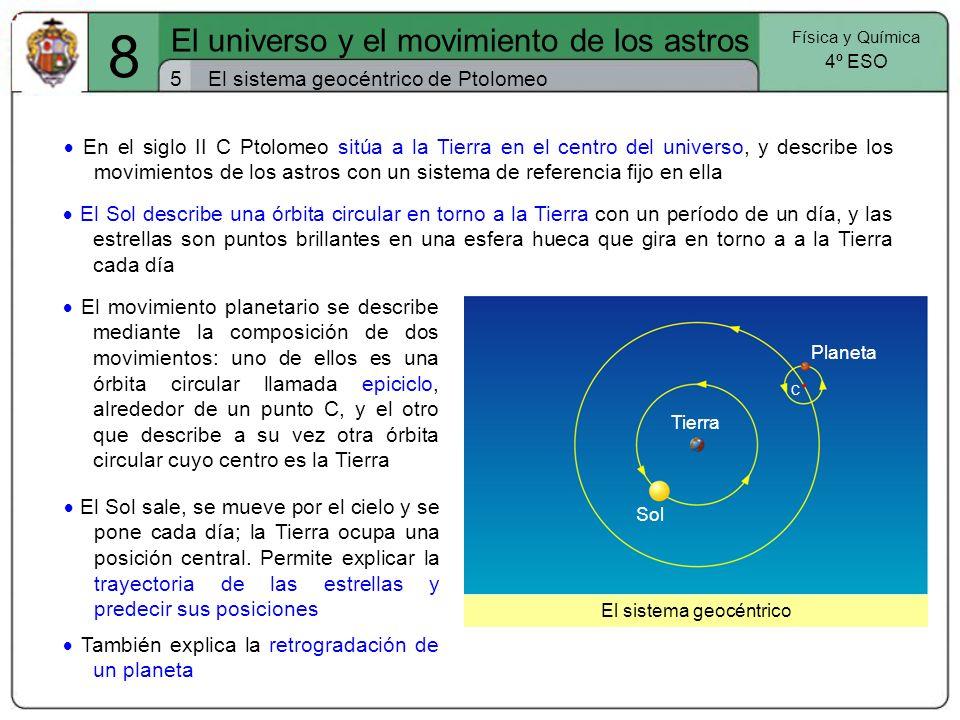 8 El universo y el movimiento de los astros 5