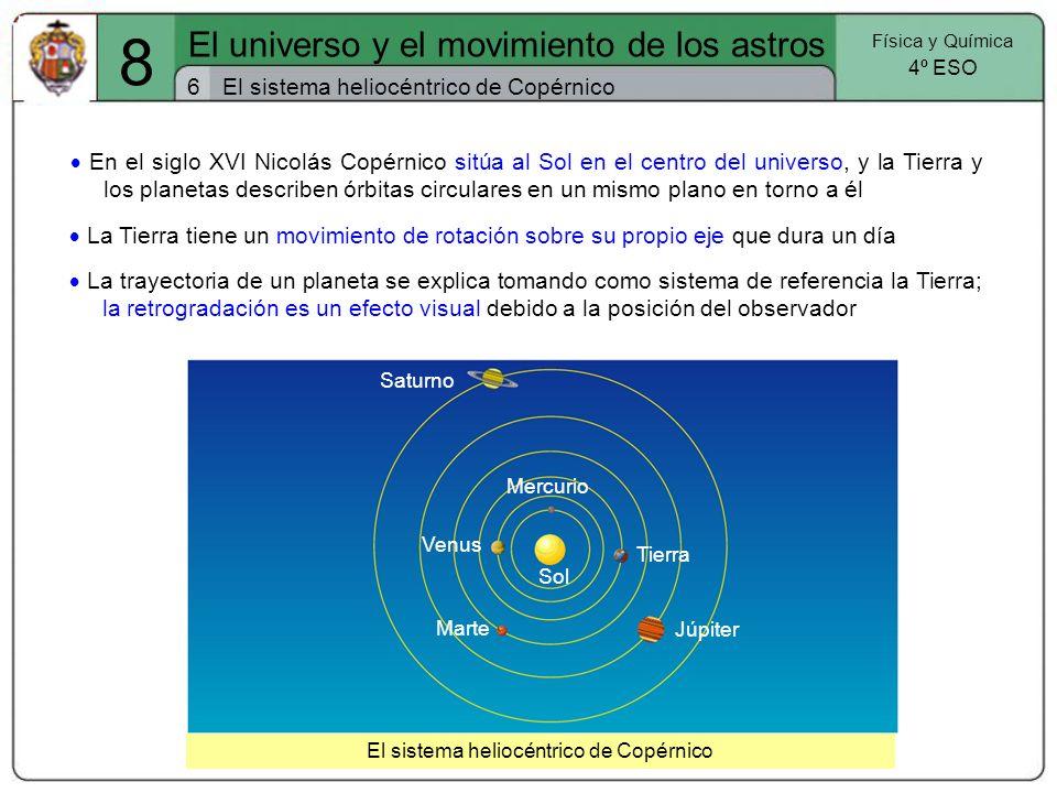 8 El universo y el movimiento de los astros 6