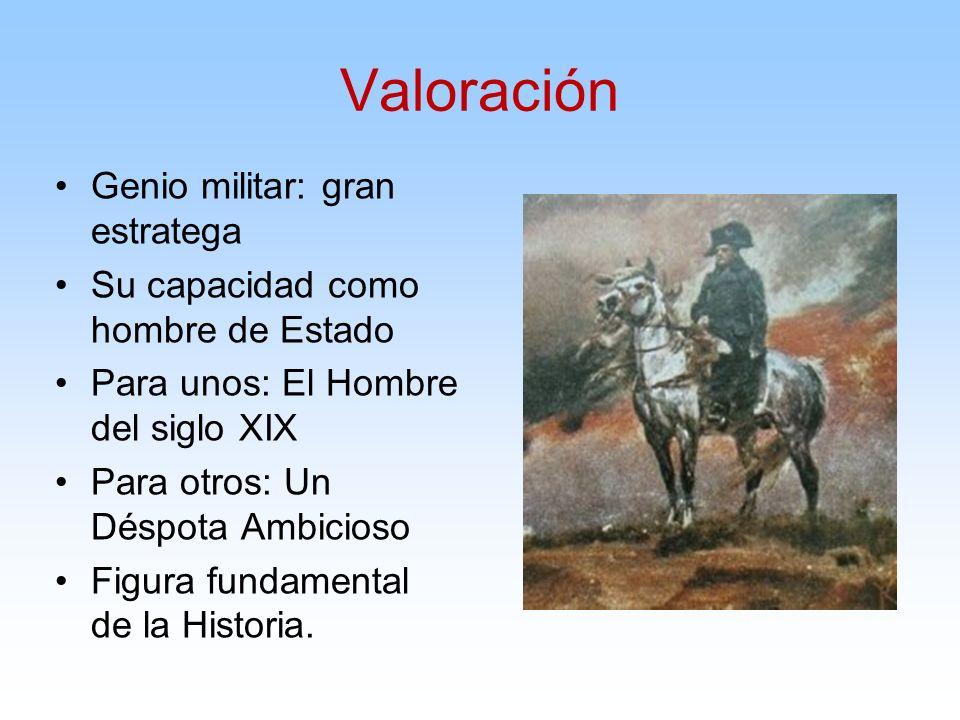 Valoración Genio militar: gran estratega