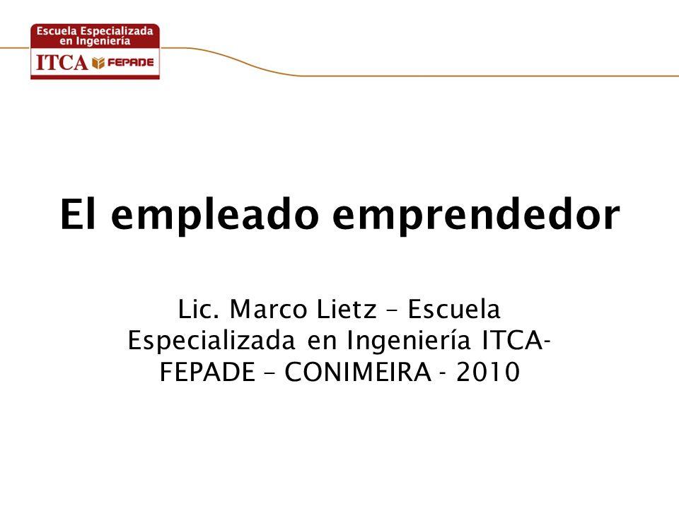El empleado emprendedor