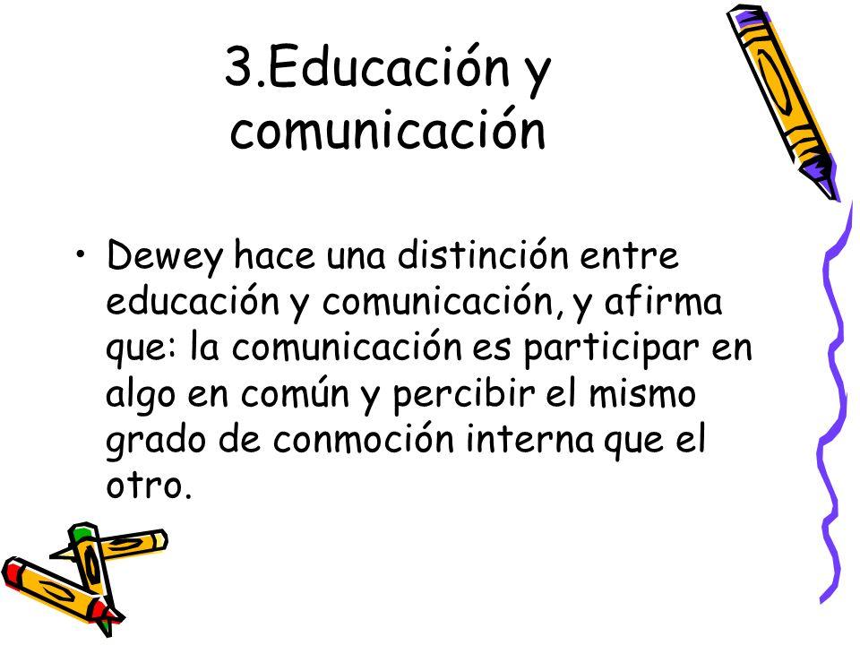 3.Educación y comunicación