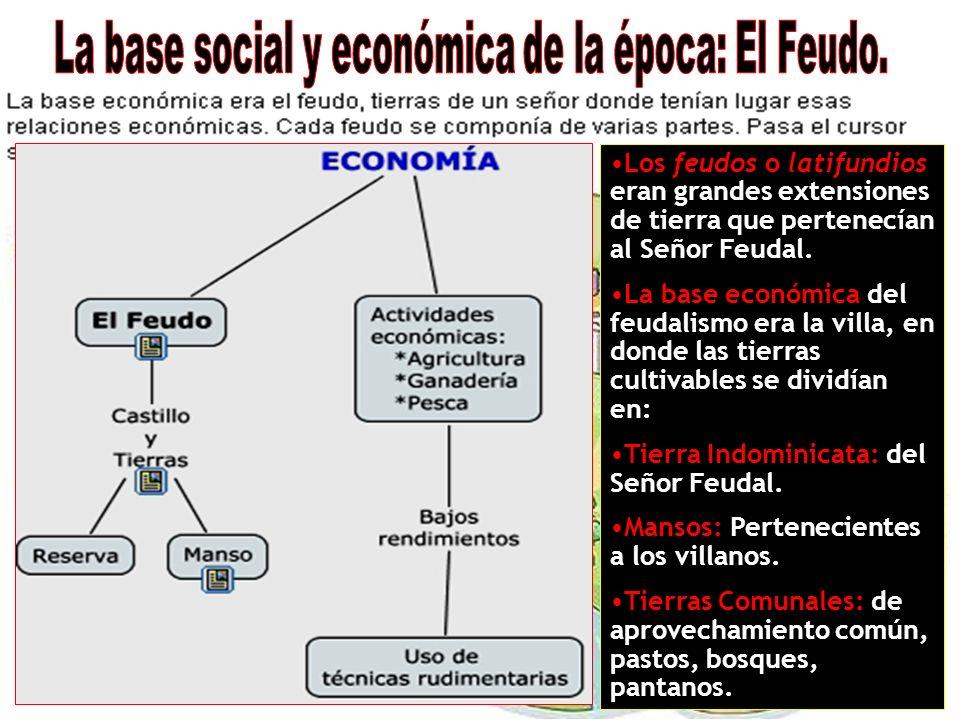 La base social y económica de la época: El Feudo.