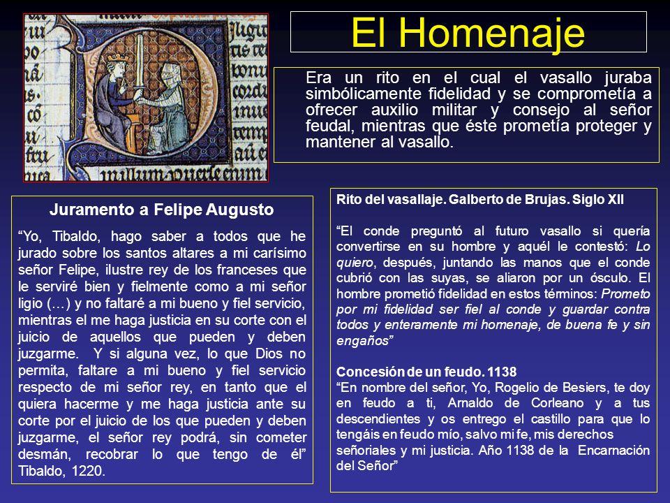 Juramento a Felipe Augusto