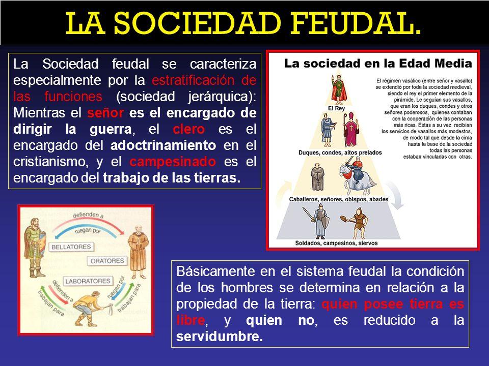 LA SOCIEDAD FEUDAL.