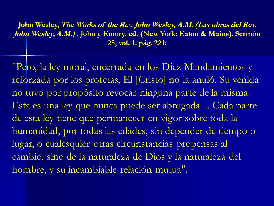 John Wesley, The Works of the Rev. John Wesley, A. M