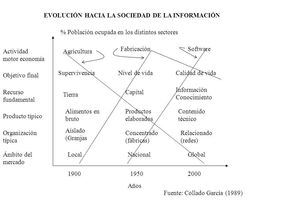 EVOLUCIÓN HACIA LA SOCIEDAD DE LA INFORMACIÓN