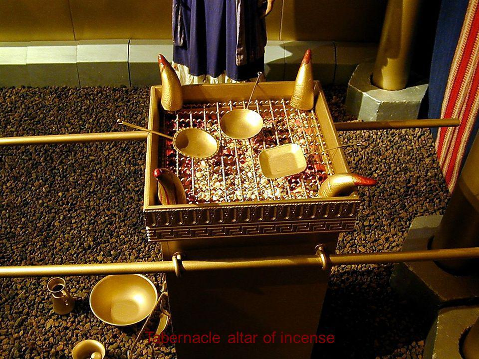 Tabernacle altar of incense