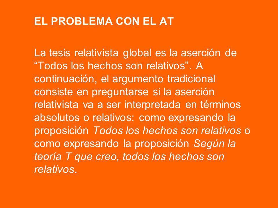 EL PROBLEMA CON EL AT