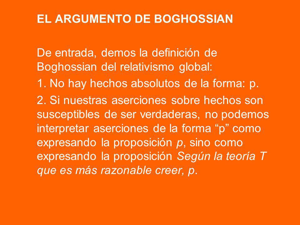 EL ARGUMENTO DE BOGHOSSIAN
