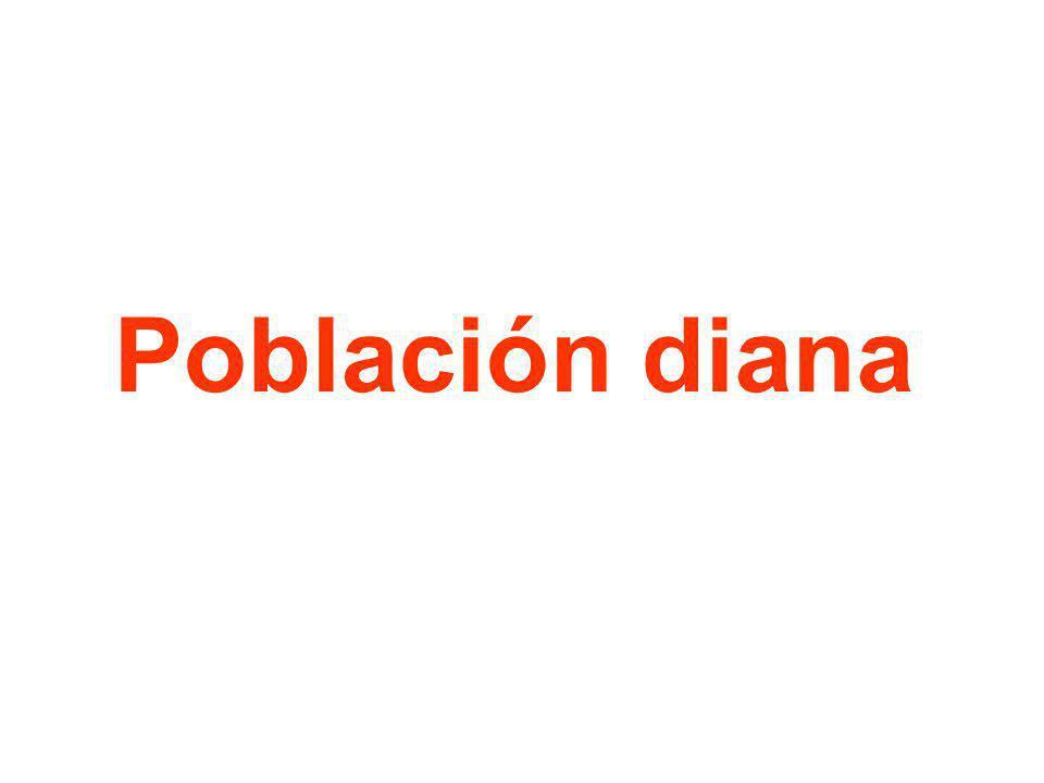 Población diana